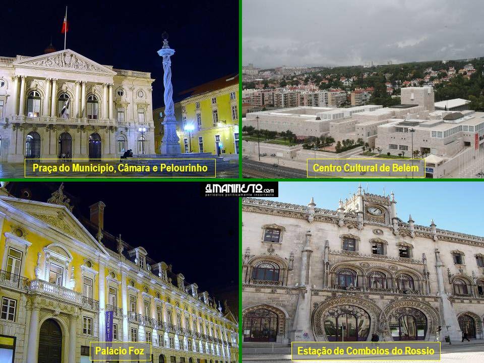 Praça do Município, Câmara e Pelourinho Centro Cultural de Belém