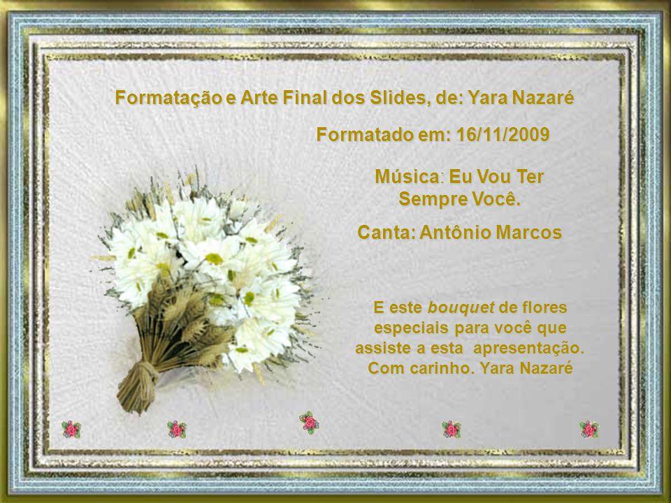 Formatação e Arte Final dos Slides, de: Yara Nazaré