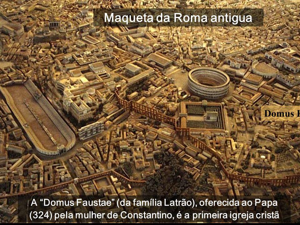 Maqueta da Roma antigua
