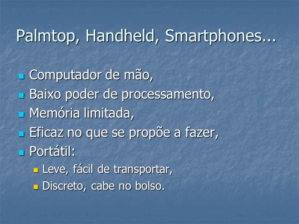 Palmtop, Handheld, Smartphones...