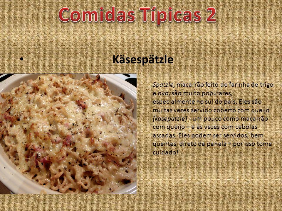 Comidas Típicas 2 Käsespätzle