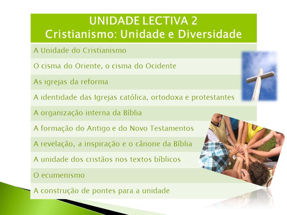 Cristianismo: Unidade e Diversidade