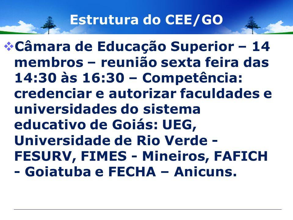 Estrutura do CEE/GO