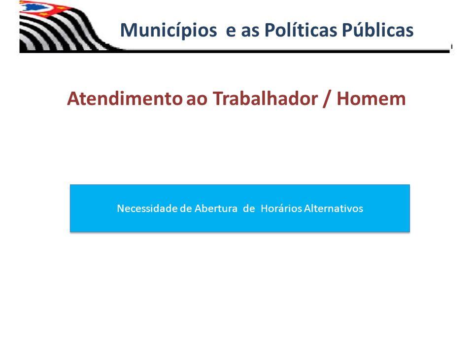 Municípios e as Políticas Públicas