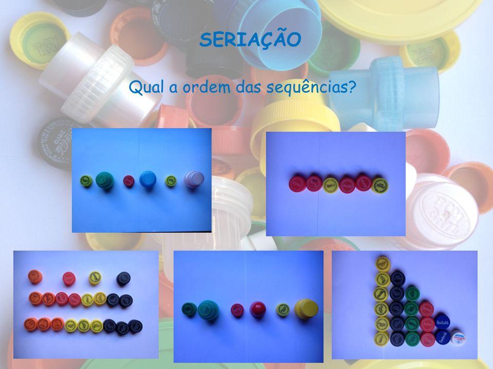 Qual a ordem das sequências
