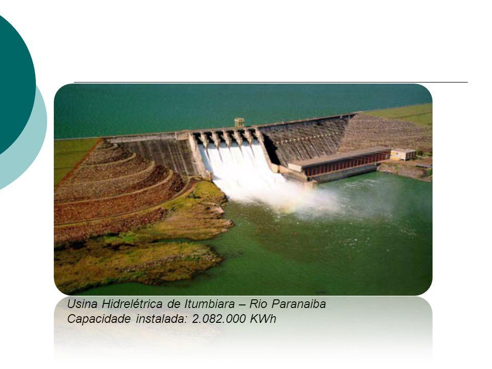 Usina Hidrelétrica de Itumbiara – Rio Paranaiba