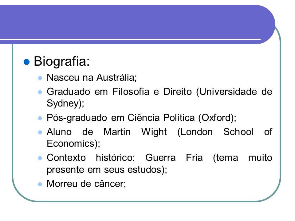 Biografia: Nasceu na Austrália;