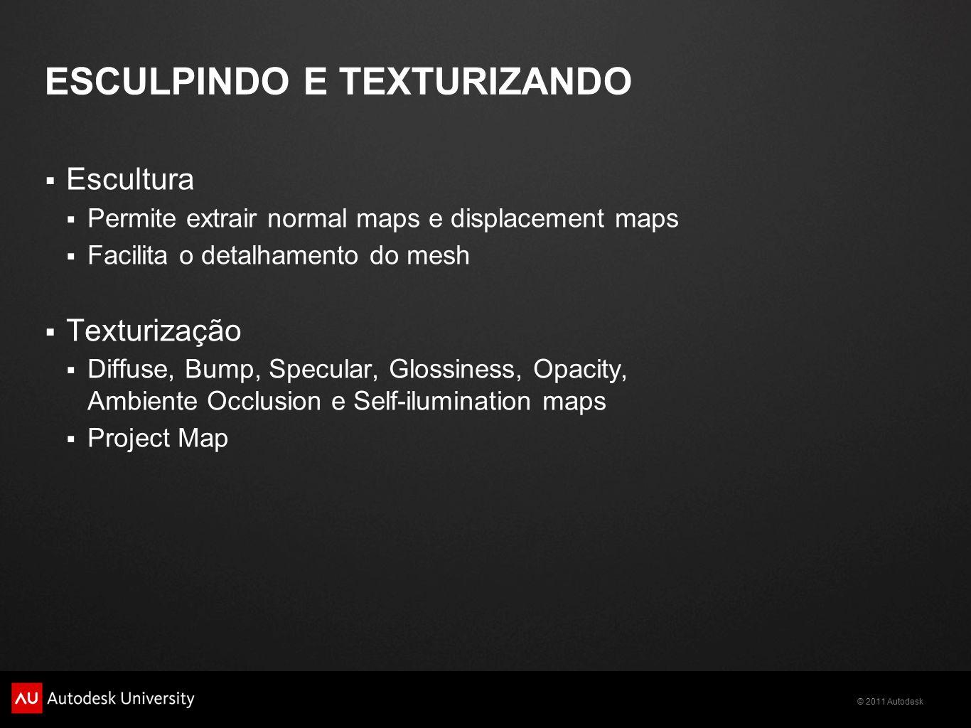 Esculpindo e texturizando
