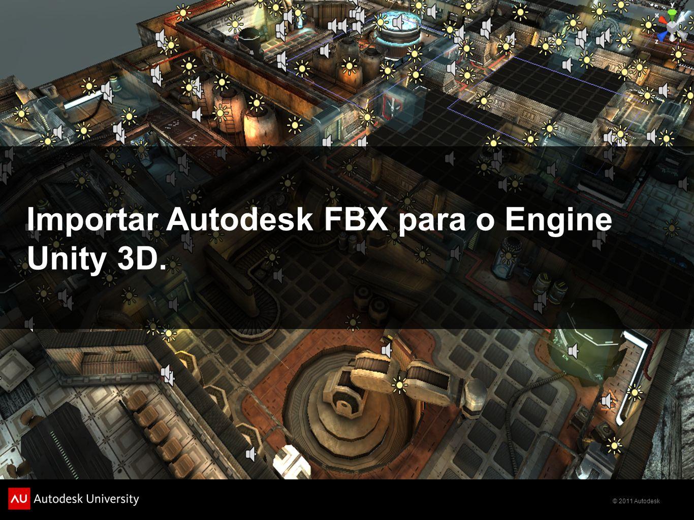 Importar Autodesk FBX para o Engine Unity 3D.