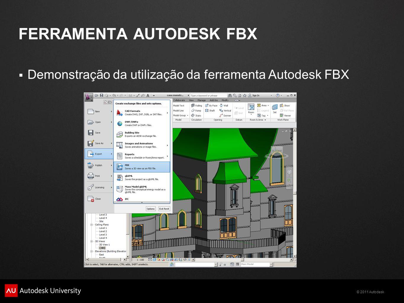 FERRAMENTA AUTODESK FBX