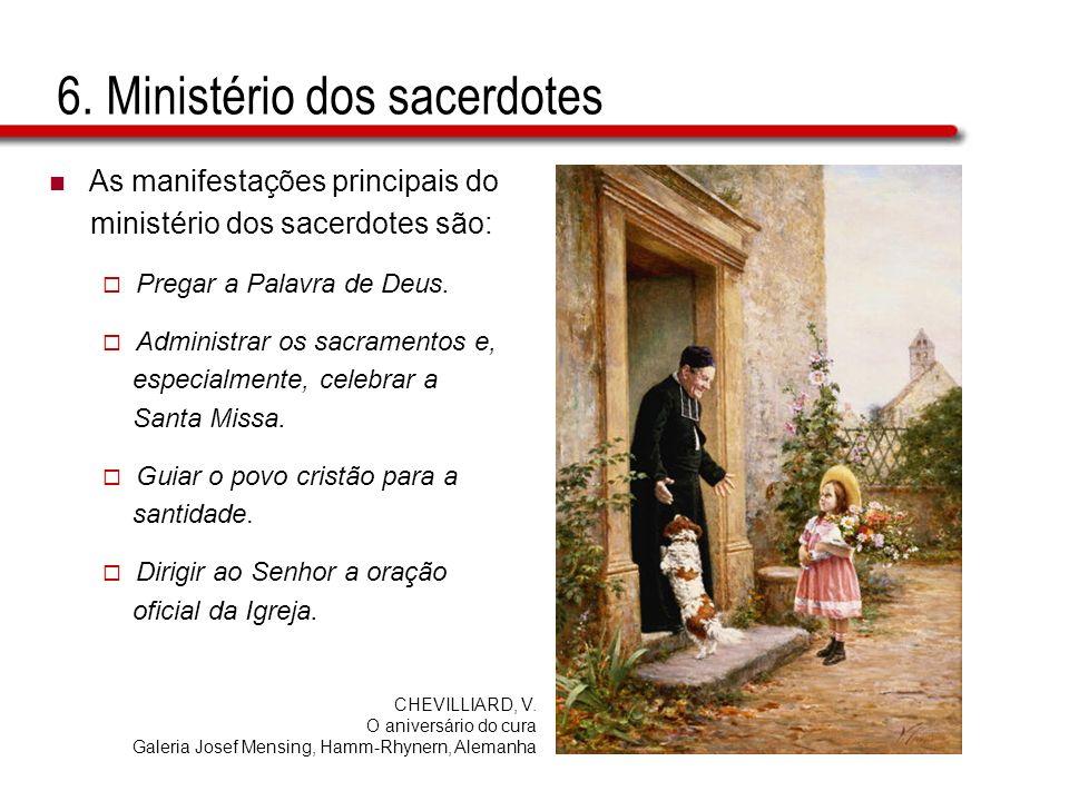 6. Ministério dos sacerdotes