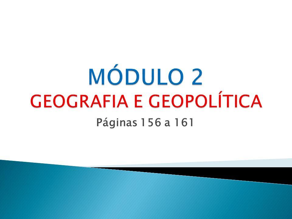MÓDULO 2 GEOGRAFIA E GEOPOLÍTICA