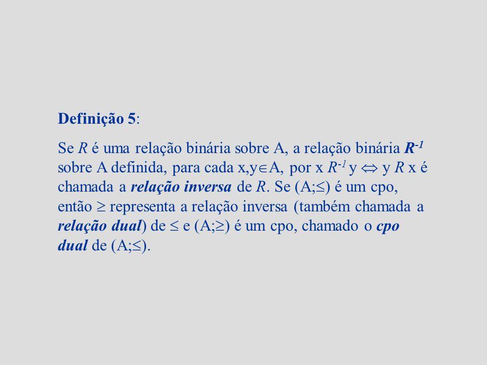 Definição 5:
