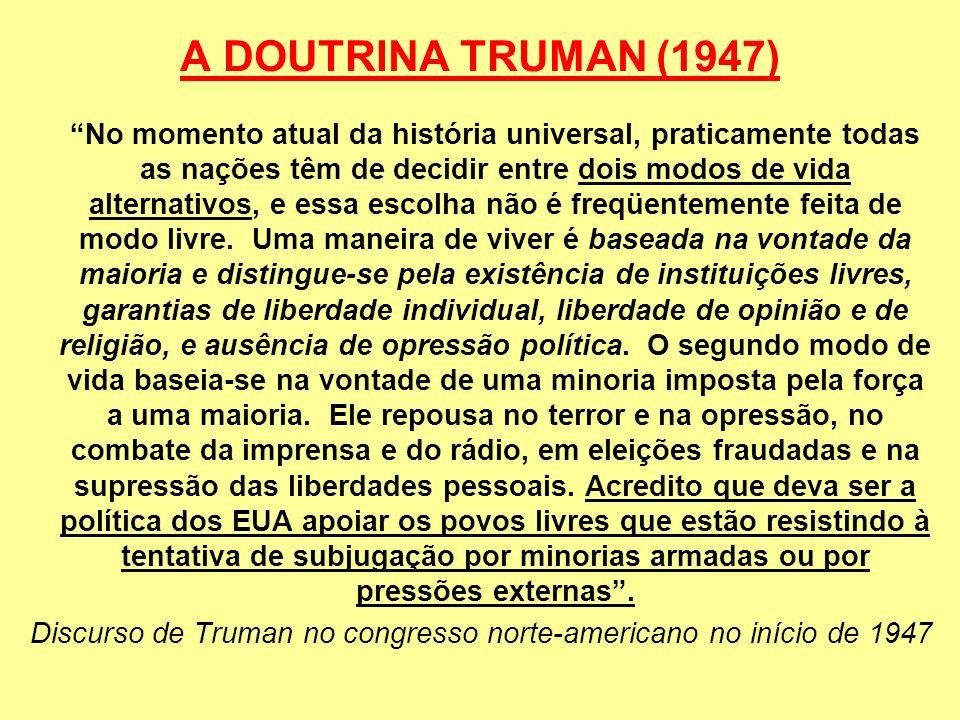 A DOUTRINA TRUMAN (1947)