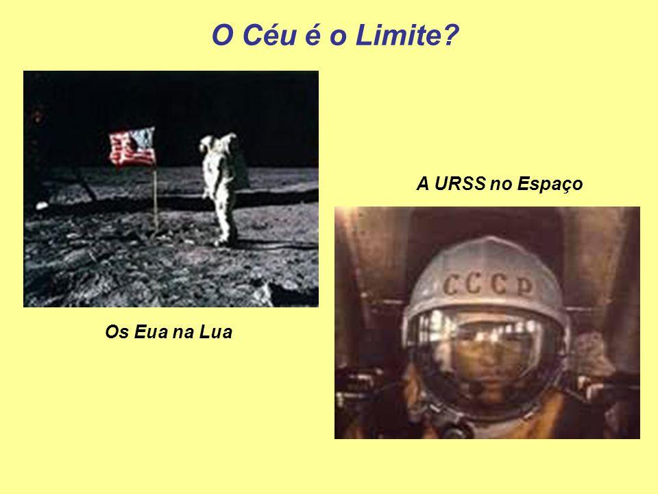 O Céu é o Limite A URSS no Espaço Os Eua na Lua