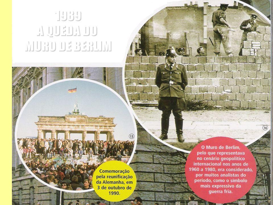 1989 A QUEDA DO MURO DE BERLIM