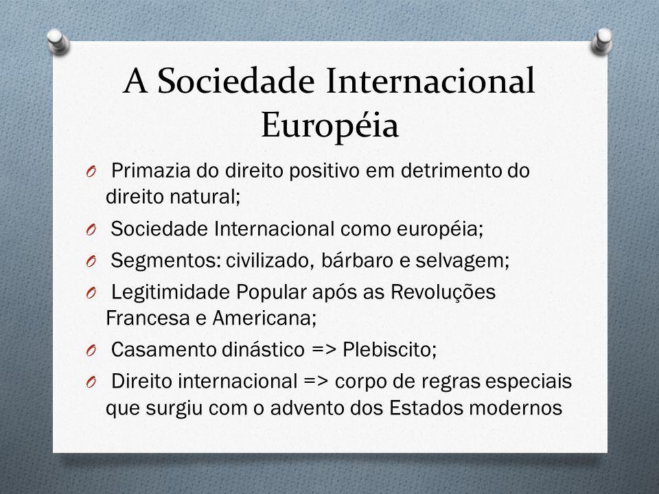 A Sociedade Internacional Européia
