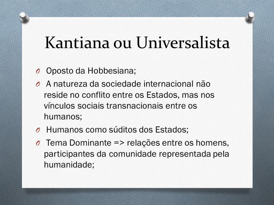 Kantiana ou Universalista