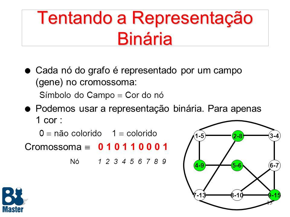Tentando a Representação Binária