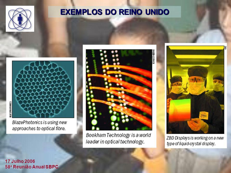EXEMPLOS DO REINO UNIDO