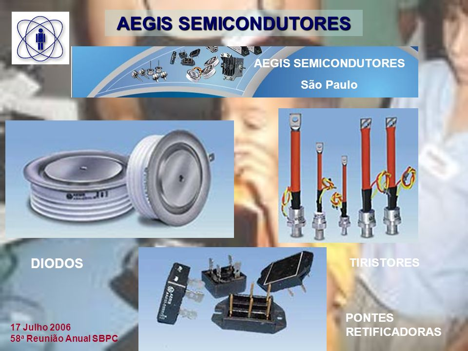 AEGIS SEMICONDUTORES DIODOS AEGIS SEMICONDUTORES São Paulo TIRISTORES