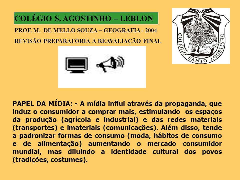 COLÉGIO S. AGOSTINHO – LEBLON