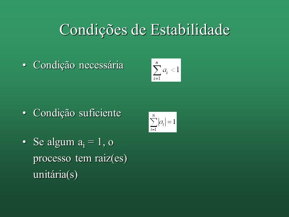 Condições de Estabilidade