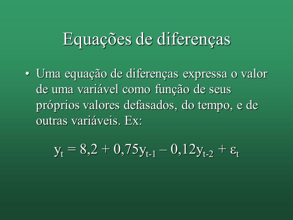 Equações de diferenças