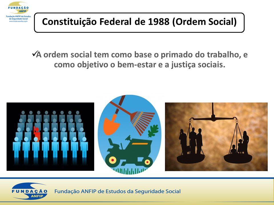 Constituição Federal de 1988 (Ordem Social)