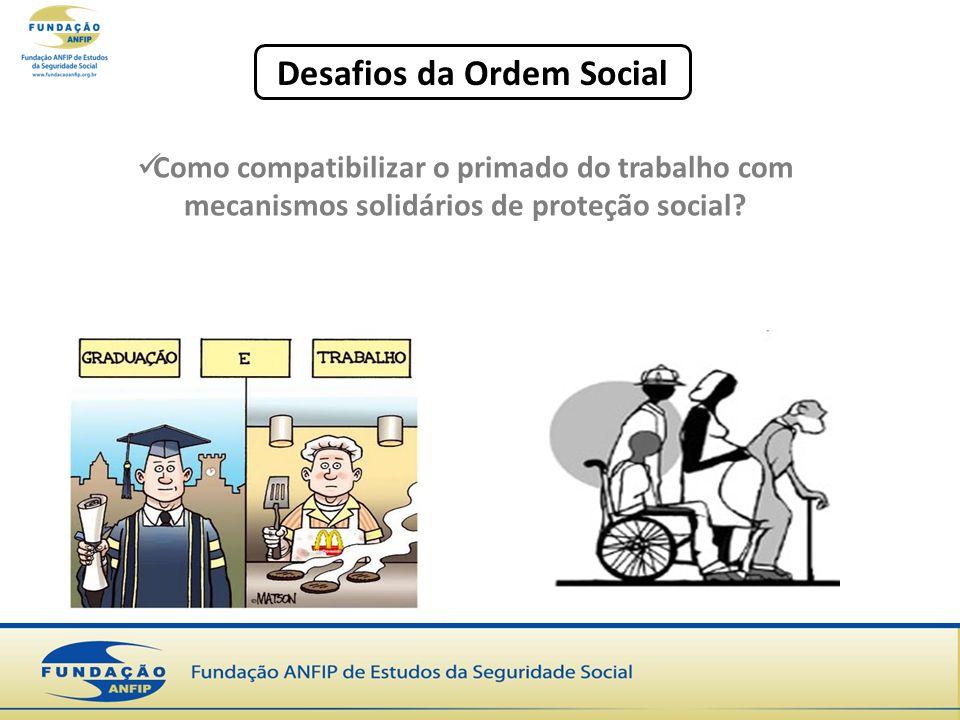 Desafios da Ordem Social