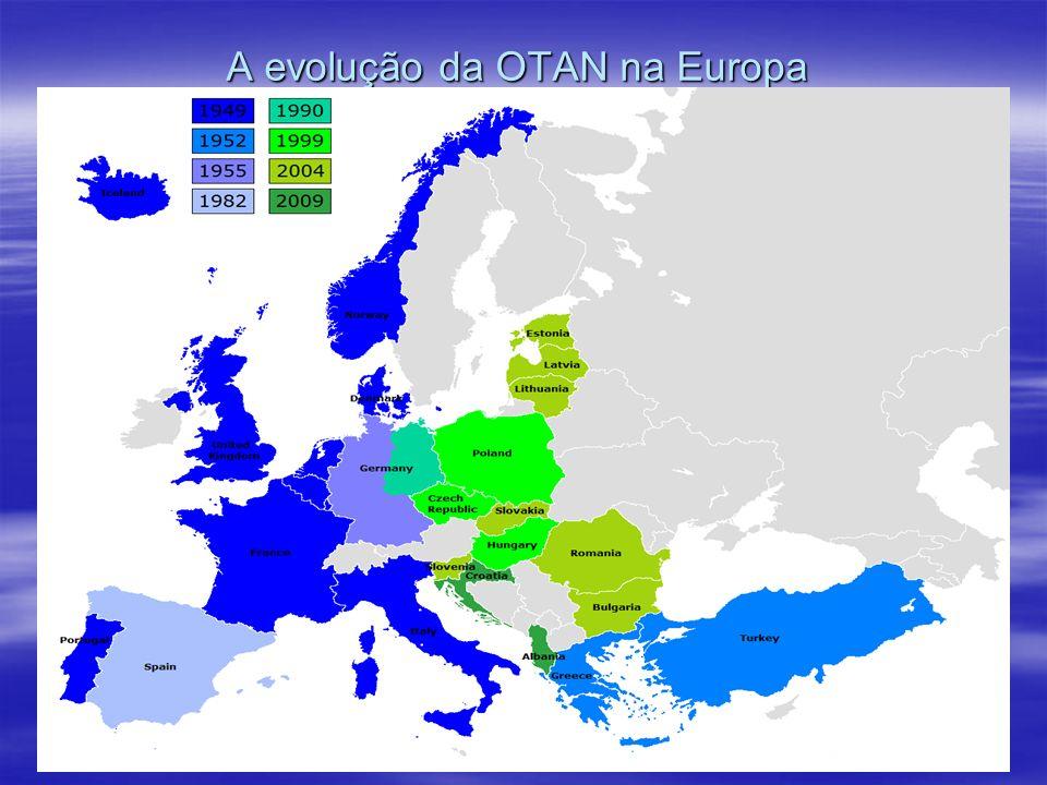 A evolução da OTAN na Europa