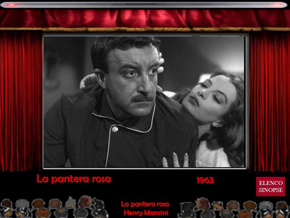 La pantera rosa 1963 ELENCO SINOPSE La pantera rosa Henry Mancini