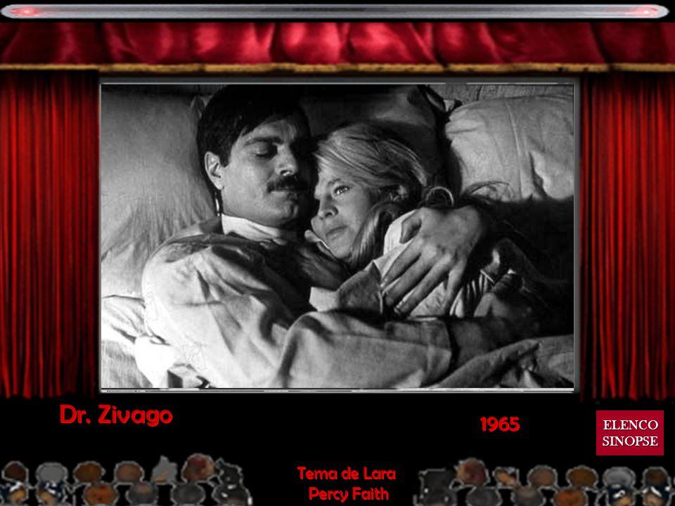 Dr. Zivago 1965 ELENCO SINOPSE Tema de Lara Percy Faith