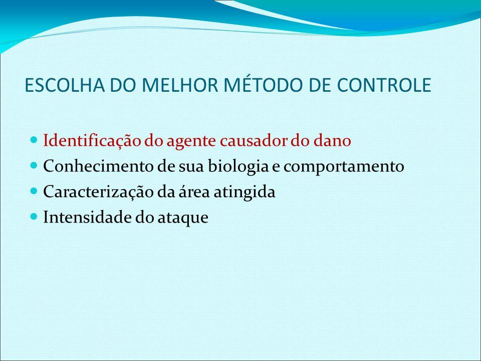 ESCOLHA DO MELHOR MÉTODO DE CONTROLE