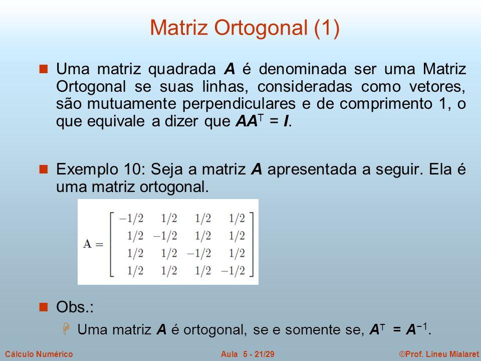 Matriz Ortogonal (1)