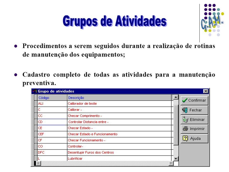 G.A.M. Grupos de Atividades