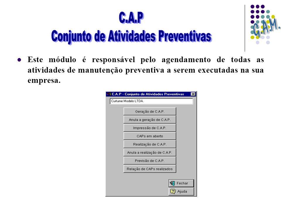 Conjunto de Atividades Preventivas