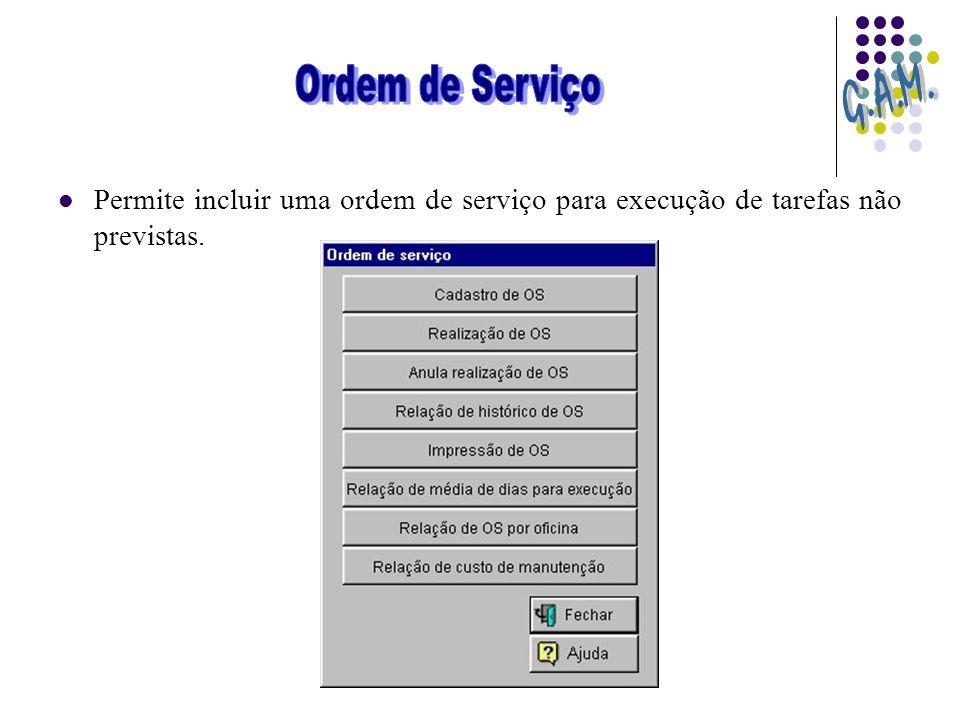 Ordem de Serviço G.A.M.