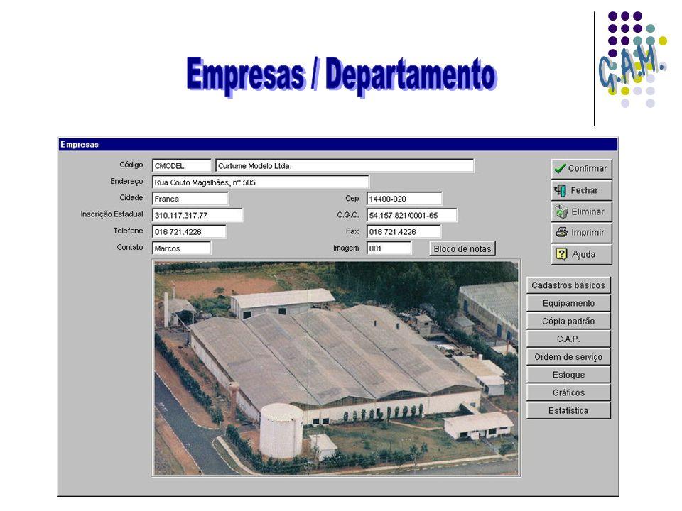 Empresas / Departamento