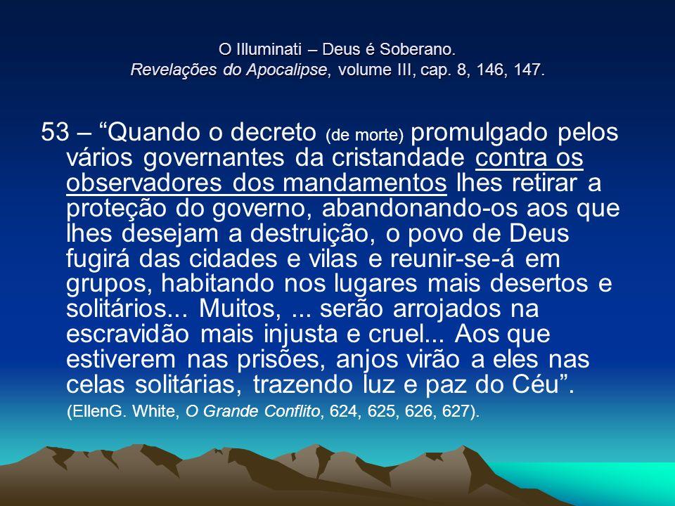 O Illuminati – Deus é Soberano