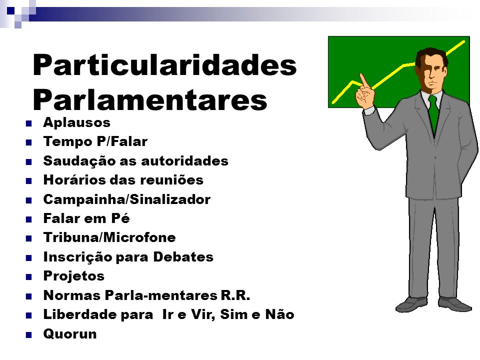 Particularidades Parlamentares