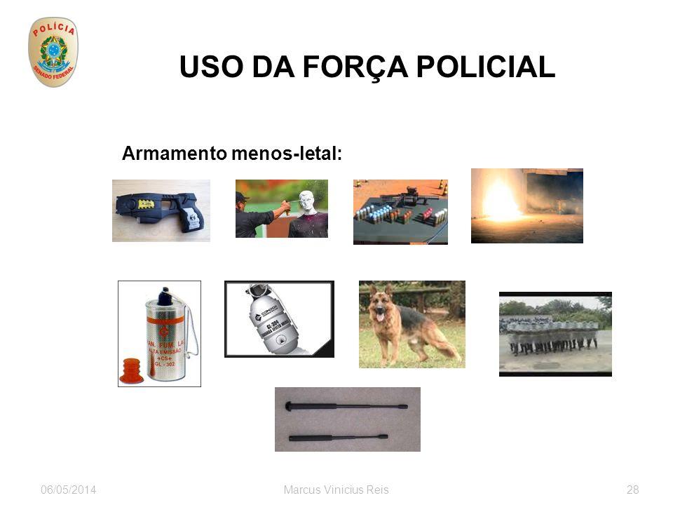 USO DA FORÇA POLICIAL Armamento menos-letal: 30/03/2017