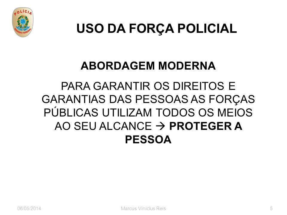 USO DA FORÇA POLICIAL ABORDAGEM MODERNA