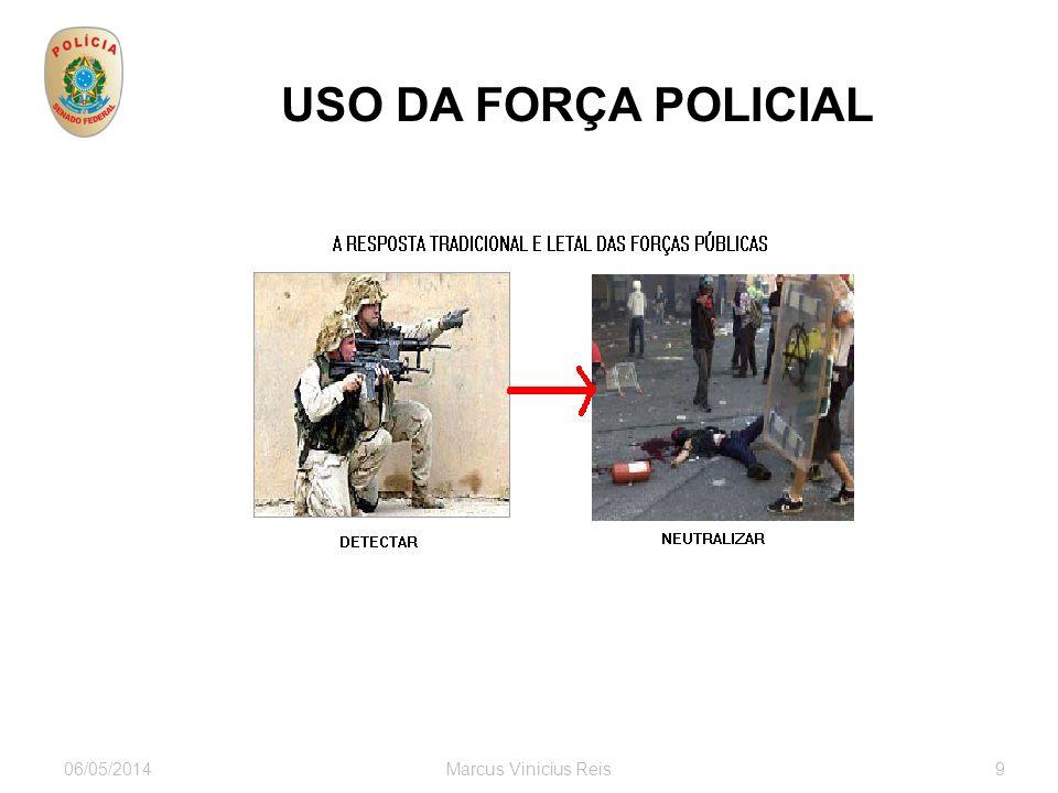 USO DA FORÇA POLICIAL 30/03/2017 Marcus Vinicius Reis 9 9