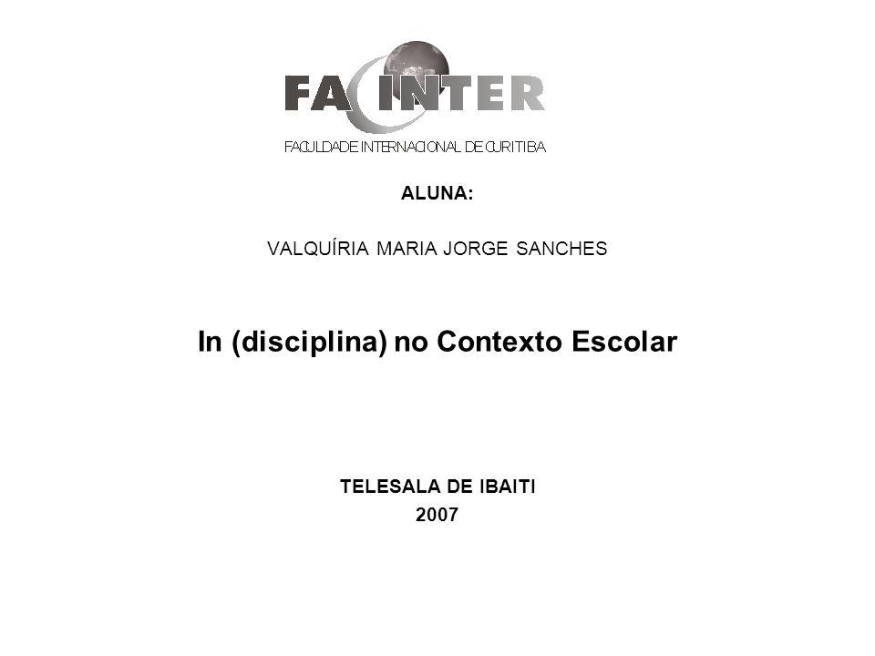 In (disciplina) no Contexto Escolar