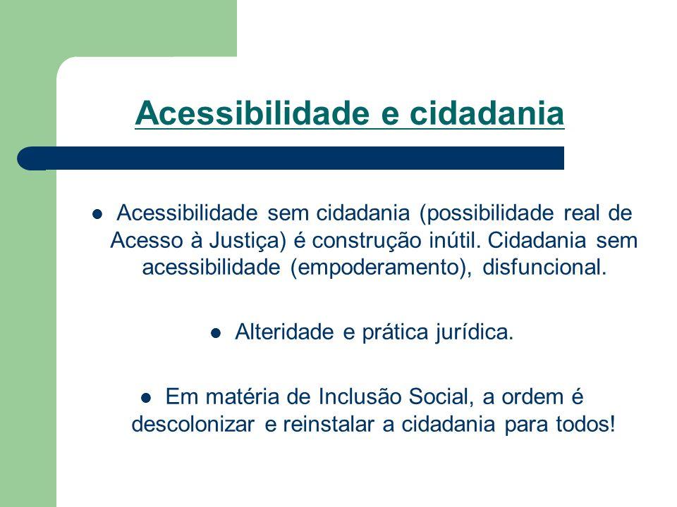 Acessibilidade e cidadania