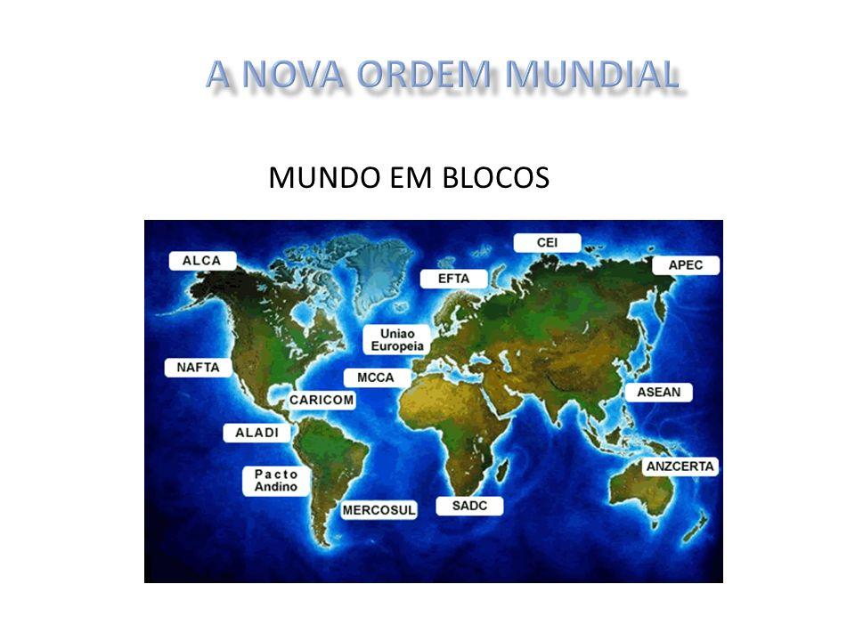 A NOVA ORDEM MUNDIAL MUNDO EM BLOCOS