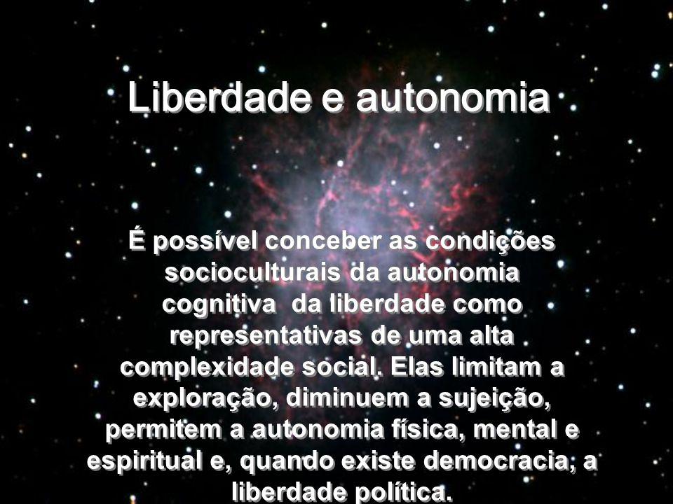 Liberdade e autonomia
