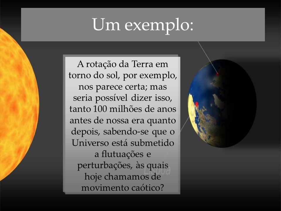 Um exemplo: