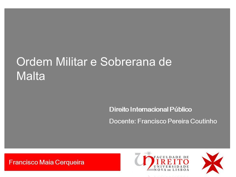 Ordem Militar e Sobrerana de Malta